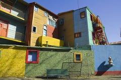 Улица Caminito, Buenos Aires Стоковые Фото