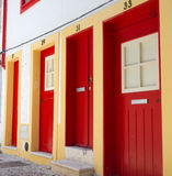 улица coimbra рисуночная Португалии Стоковая Фотография RF