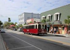 Улица Donnelly занятое туристское назначение Стоковое Фото