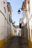 улица evora стоковая фотография rf