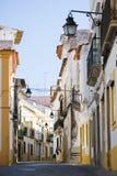 улица evora стоковое изображение rf