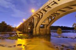 улица gervais моста стоковое изображение