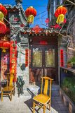 Улица Huguosi в районе Пекине Китае Xicheng на 01 03 2017 Стоковая Фотография RF