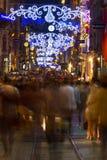 Улица Istiklal, Taksim Стоковая Фотография