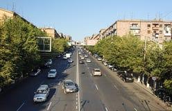 Улица Kievyan в Ереване Стоковые Фото