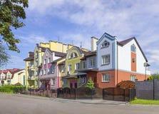 Улица Kurortnaya Калининград, Россия Стоковая Фотография RF