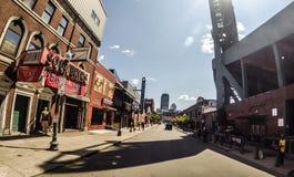 Улица Lansdowne, Бостон, МАМЫ Стоковые Изображения