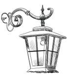 Улица lantern-2 вектора Стоковые Изображения RF