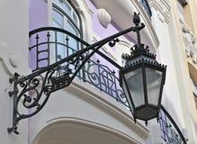 улица lisbon светильника Стоковые Изображения RF