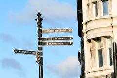 улица london стоковые изображения