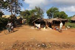улица malindi s стоковая фотография