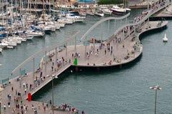 улица mar rambla del стоковое фото