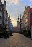 улица mariacka gdansk Стоковая Фотография