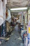 Улица Matala Стоковое Фото