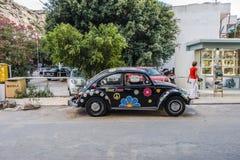 Улица Matala Стоковые Изображения RF