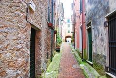 Улица Montemarcello Стоковое Фото