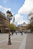 улица palais de правосудия к Стоковое Изображение