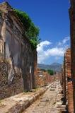 улица pompeii Стоковые Фотографии RF