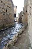 улица pompeii Стоковые Фото