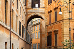 улица rome Стоковое фото RF