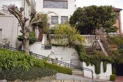 улица san lombard california francisco Стоковое Изображение