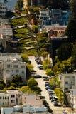улица san lombard francisco Стоковое Изображение RF