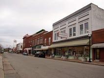 Улица Selma Северной Каролины северная Raiford Стоковые Изображения