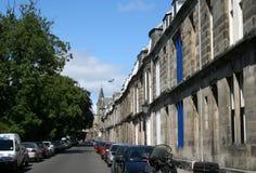 улица st andrews Шотландии стоковые фотографии rf