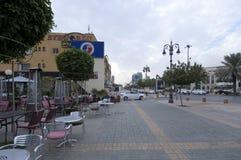 Улица Tahlia в Эр-Рияде, Саудовской Аравии, 01 12 2016 Стоковые Изображения