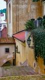 Улица Thunovska, Прага, чехия Стоковое Изображение