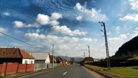 улица transylvanian Стоковая Фотография RF