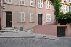 Улица Tropez святой стоковые изображения
