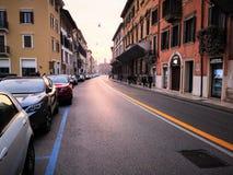 Улица Veronne стоковые фотографии rf