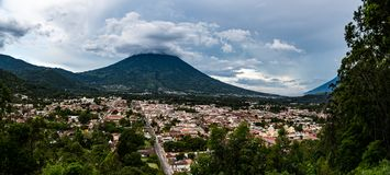 Улицы Антигуы, Гватемалы Стоковые Фотографии RF