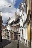 улицы Бельгии bruges стоковое изображение