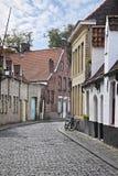 улицы Бельгии brugge стоковые фото