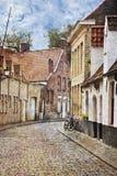 улицы Бельгии brugge стоковые изображения rf