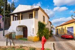 Улицы в Tomar Португалия стоковые изображения rf