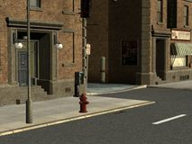 улицы города Стоковое Фото