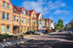 Улицы западного района Ealing, Лондона, Великобритании стоковая фотография