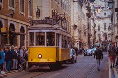 Улицы Лиссабона, Португалии 2 стоковое фото rf