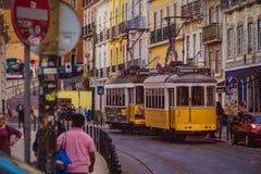 Улицы Лиссабона, Португалии 3 стоковые фото
