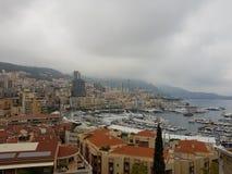 Улицы Монако Стоковое Фото