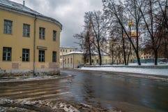 Улицы Москвы прописно Россия стоковые изображения