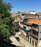 Улицы Порту Португалии летом стоковое изображение