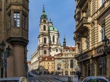 Улицы Праги в чехии стоковое изображение