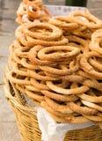 улицы сбывания bagels athens Стоковые Фото