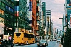 Улицы токио стоковые фотографии rf