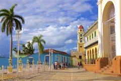 Улицы Тринидада, Кубы стоковое фото rf