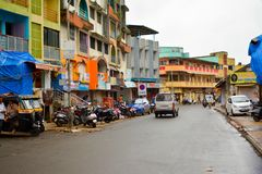 Улицы Daman Стоковое Изображение